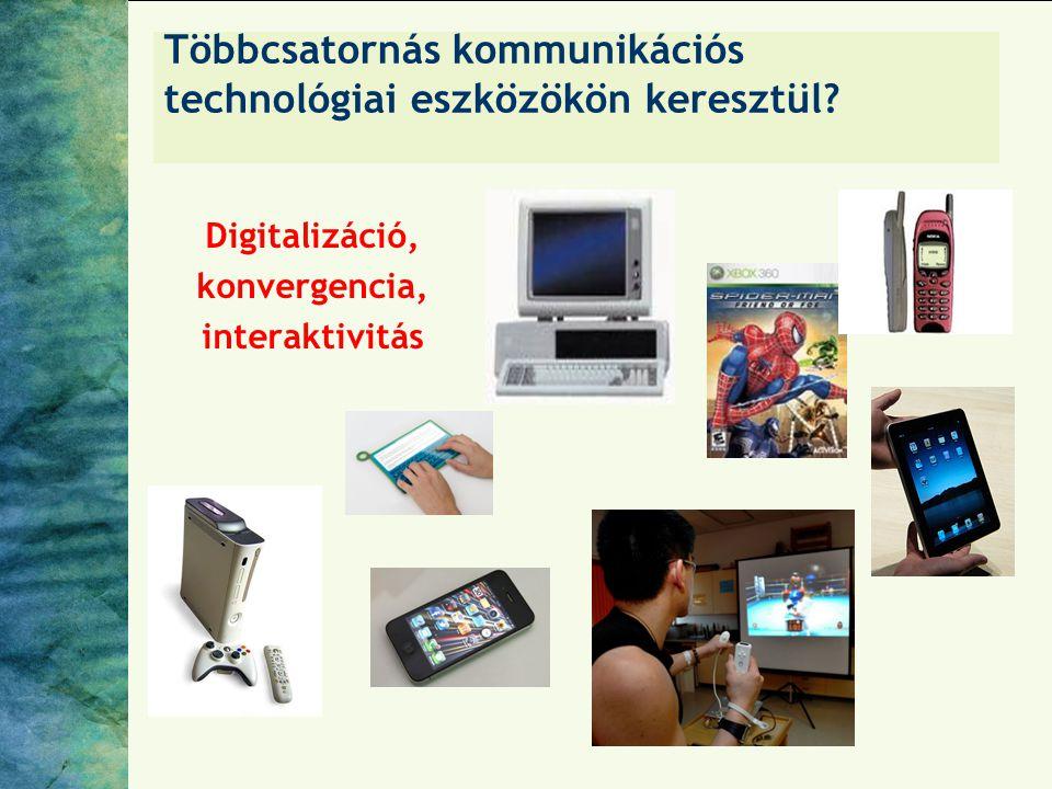 Többcsatornás kommunikációs technológiai eszközökön keresztül? Digitalizáció, konvergencia, interaktivitás
