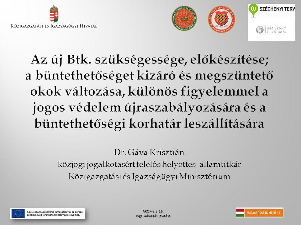 Dr. Gáva Krisztián közjogi jogalkotásért felelős helyettes államtitkár Közigazgatási és Igazságügyi Minisztérium