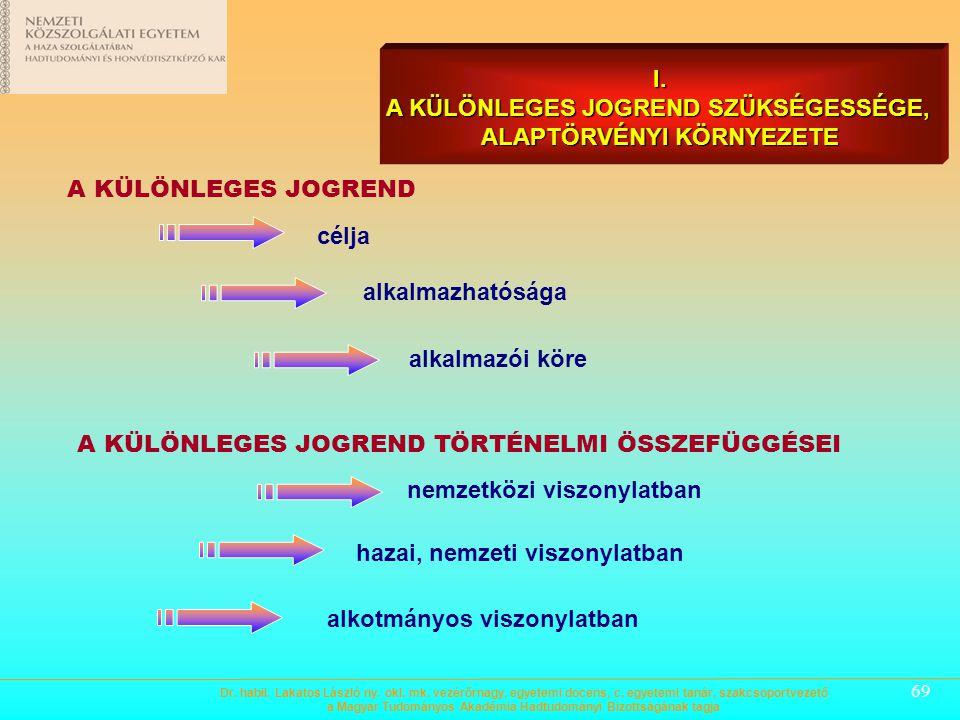 68 2./ A KÖZIGAZGATÁS SZERVEZETRENDSZERE VISZONYLATÁBAN  BÉKE- (NORMÁL) IDŐSZAKI KÖZIGAZGATÁS - államigazgatási feladatokat ellátó szervezetek - önko