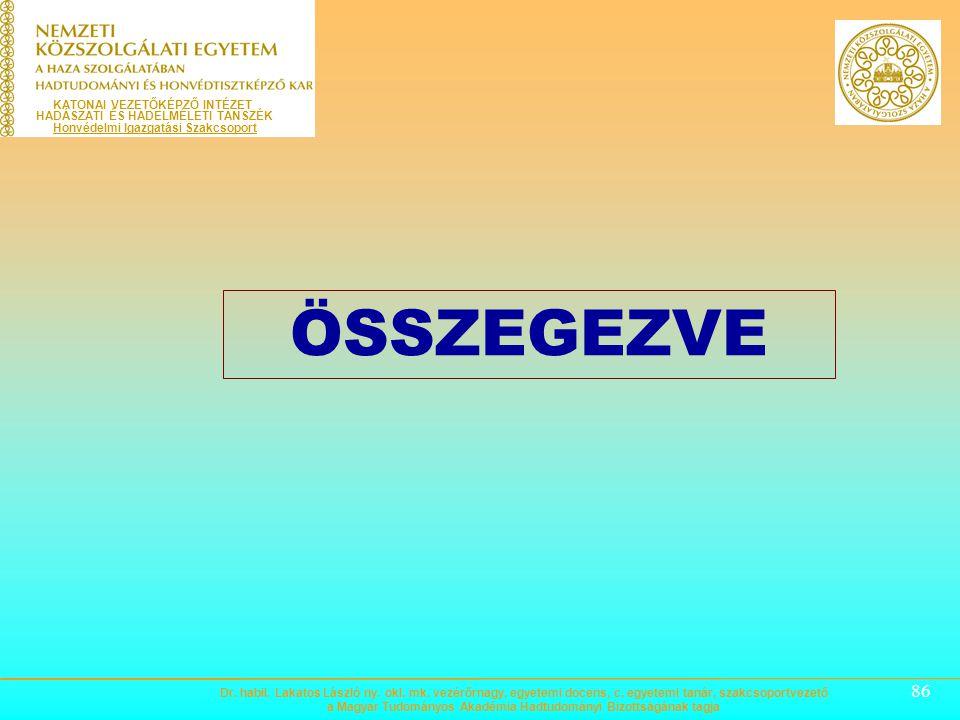 85 Megelőző védelmi helyzet Magyarország Alaptörvénye 51. cikk (1). A MINŐSÍTETT IDŐSZAKOK (KÜLÖNLEGES JOGREND) TÉNYÁLLÁSAI, FŐBB HATÁSKÖRI SZABÁLYOK