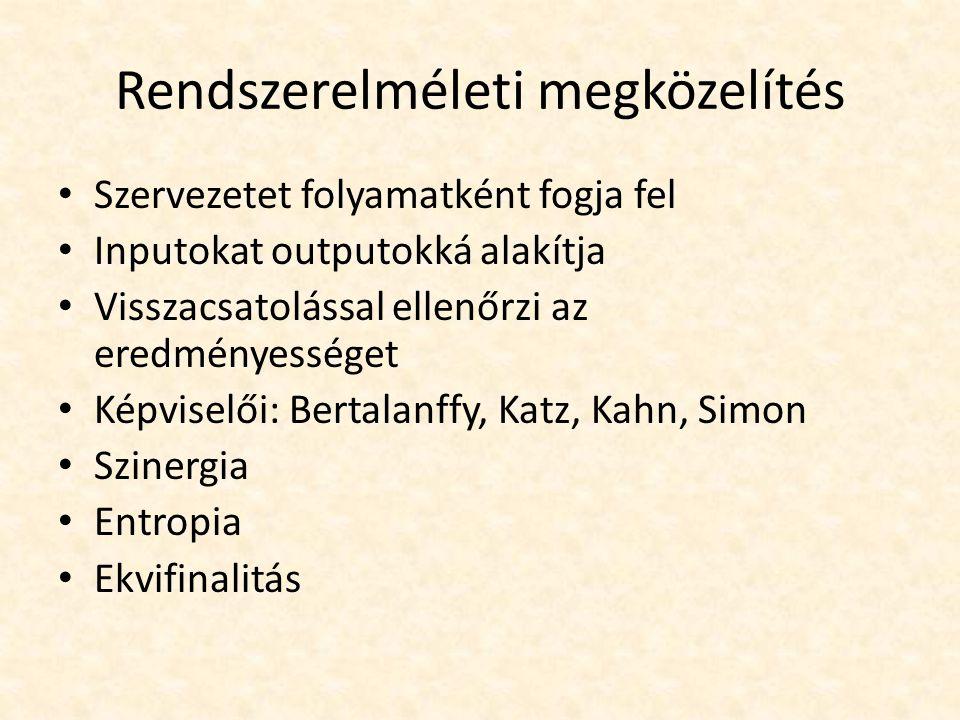 """Ludwig von Bertalanffy """"Minden rendszer több, mint elemeinek összessége a rendszerelmélet egyik megalapítója biológus, magyar származású elsősorban az élő rendszerek érdeklik az élővilág történelmének feltárására törekedett"""
