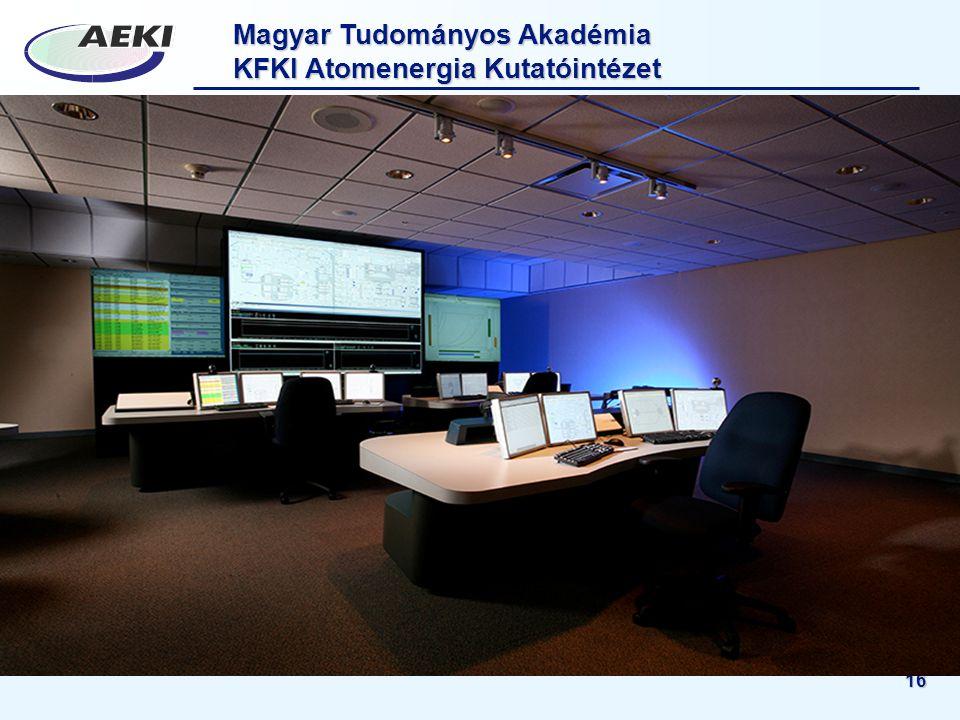 Magyar Tudományos Akadémia KFKI Atomenergia Kutatóintézet 16