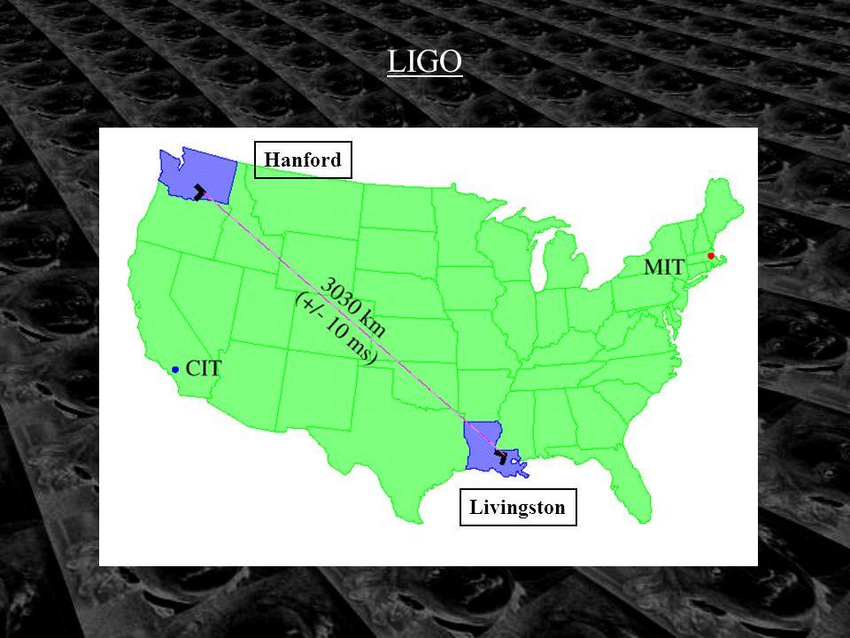 Hanford Livingston LIGO