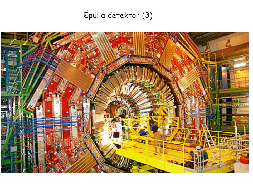 Épül a detektor (2)