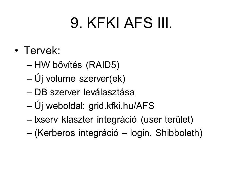 9.KFKI AFS III.