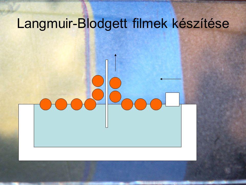 Langmuir-Blodgett filmek készítése