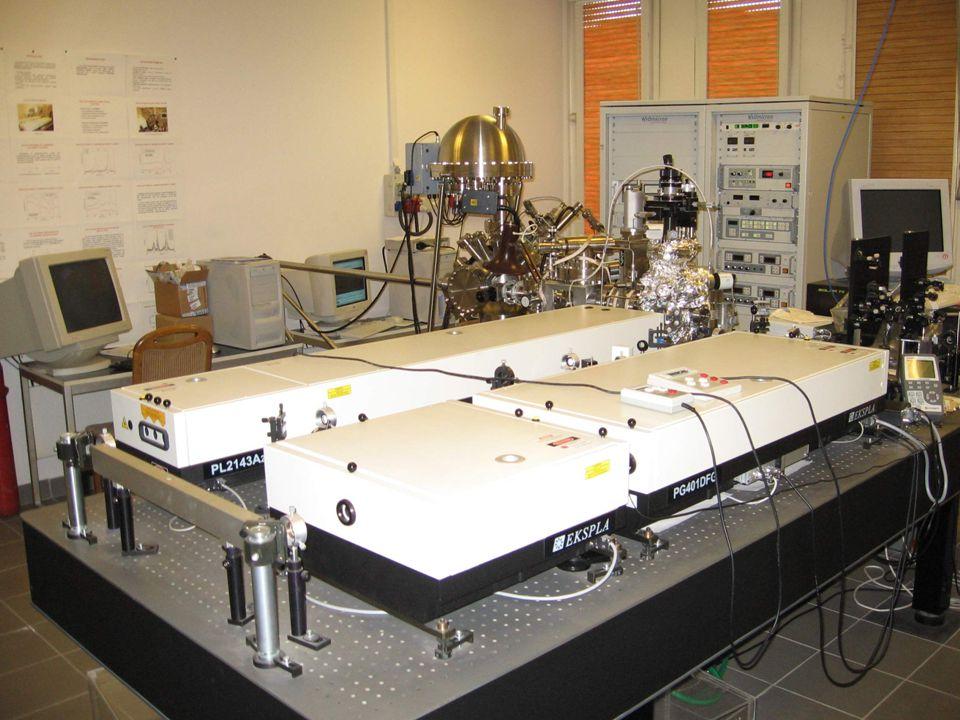 Ionbombázott Au(111) felület + CO - hőmérsékletfüggés 10 -8 mbar 190 K környékén mind gázáramban, mind vákuumban (preadszorbeált CO) deszorbeálódik a CO
