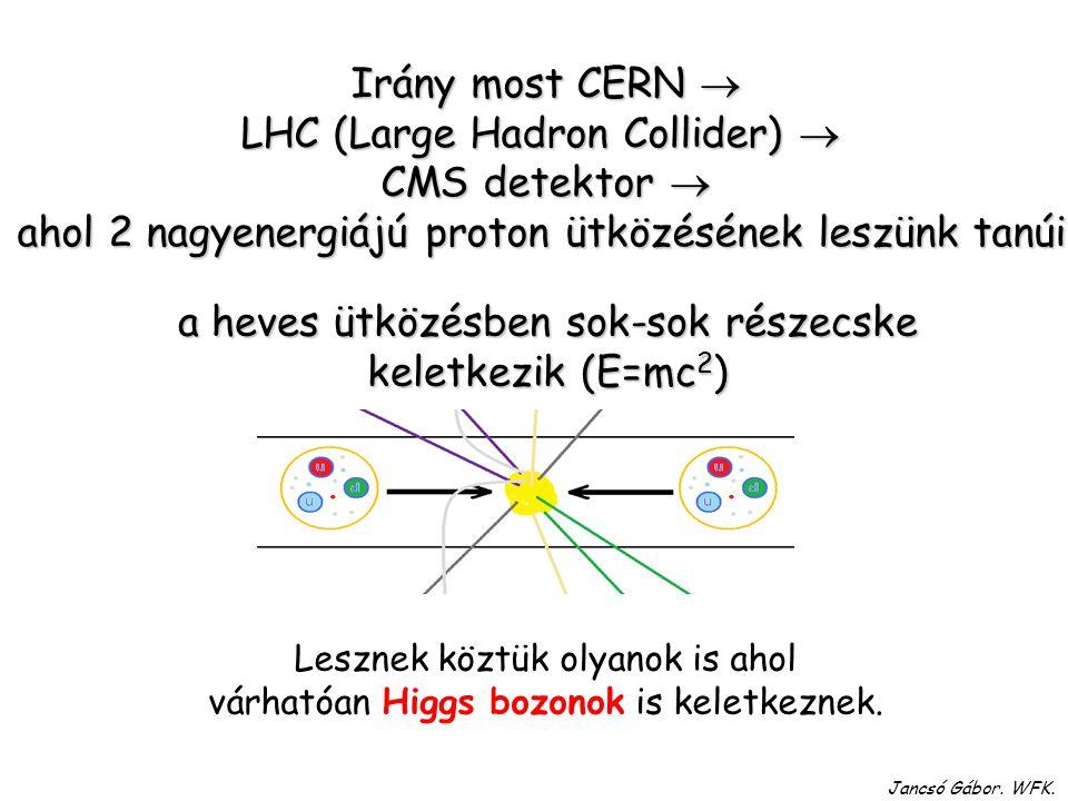 """Amit tudni illik róla: Ő """"ad"""" tömeget a részecskéknek Felfedezték CERN-ben, 2012-ben Tömege igen nagy  126 GeV Tömege igen nagy  126 GeV Élettartama"""