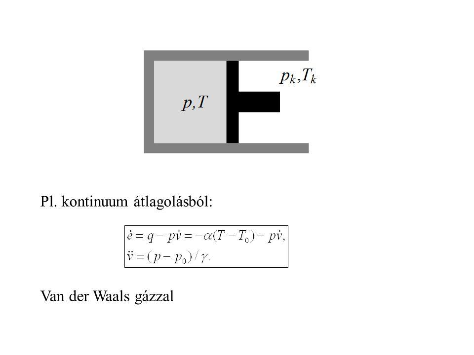 Kitekintés  Dinamika: nem(csak) Hamilton-elv (Lagrange-függvény) alapján csak ideális  Egyenlőtlenség megoldás: nemcsak kvadratikus és linearizált k