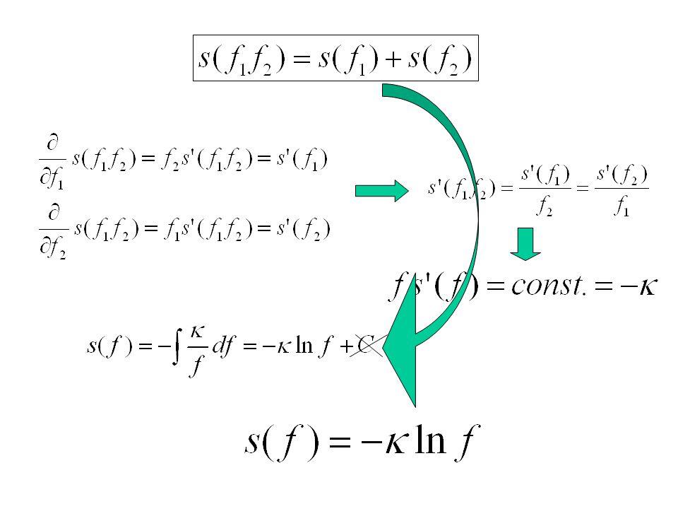 """Entrópia a """"gyengén nemlokális"""" (?) statisztikus fizikában (Fisher, Frieden, Plastino, …): –Izotrópia –Extenzivitás –Additivitás"""