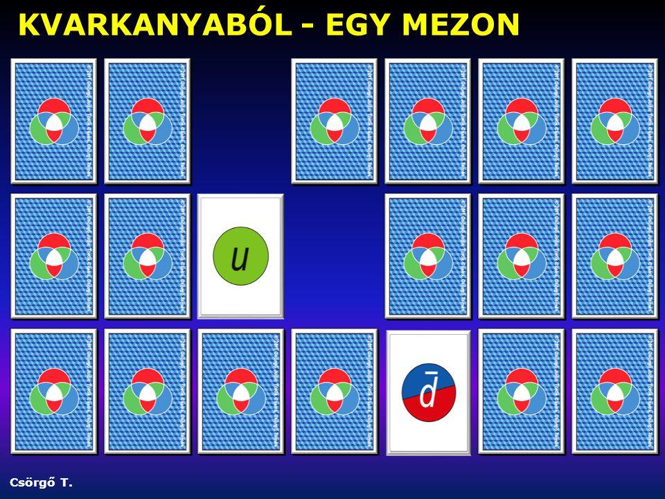 Csörgő T. KVARKANYABÓL - EGY MEZON