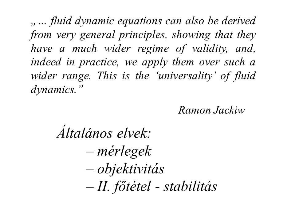 Kvantummechanika alapjai: motiváció – interpretáció – levezetés (?) Van ilyen.