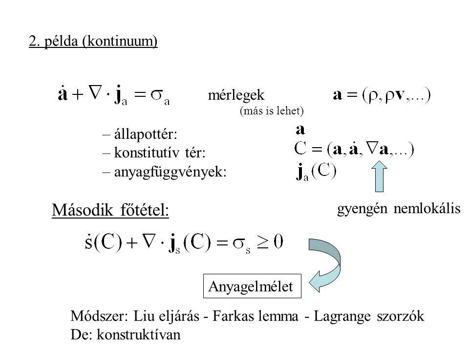 Entrópia a (információ elméleti, prediktív, bayesi) statisztikus fizikában (Jaynes, 1957): Az információ mértéke egyértelmű általános fizikai feltételek mellett.