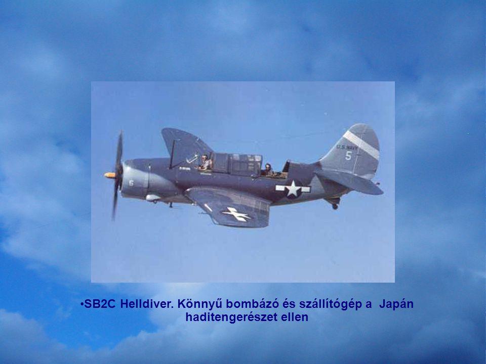 Mustang; vadász gép. Főleg az Európai hadszintérről. A bombázokat védte.