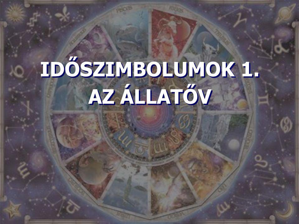 IDŐSZIMBOLUMOK 1. AZ ÁLLATŐV IDŐSZIMBOLUMOK 1. AZ ÁLLATŐV