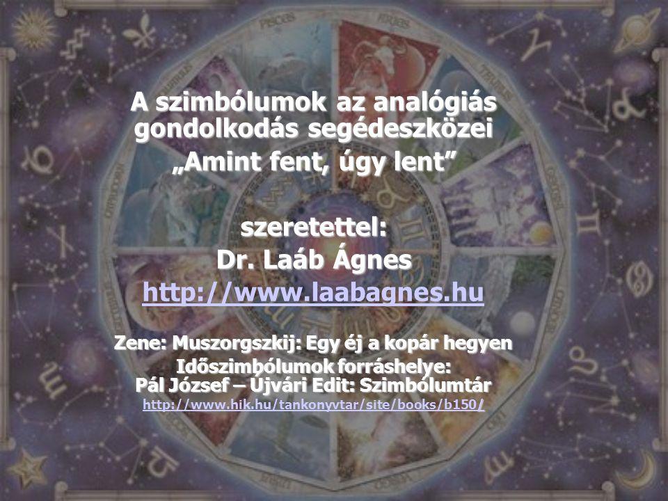 """A szimbólumok az analógiás gondolkodás segédeszközei """"Amint fent, úgy lent"""" szeretettel: Dr. Laáb Ágnes http://www.laabagnes.hu Zene: Muszorgszkij: Eg"""