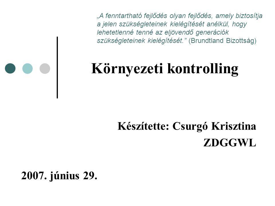12 A GRI alapján készült magyarországi jelentések elemzése A GRI honlapján regisztrált jelentések között hét magyar vállalat jelentését találhatjuk meg: BAT Pécsi Dohánygyár Kft.