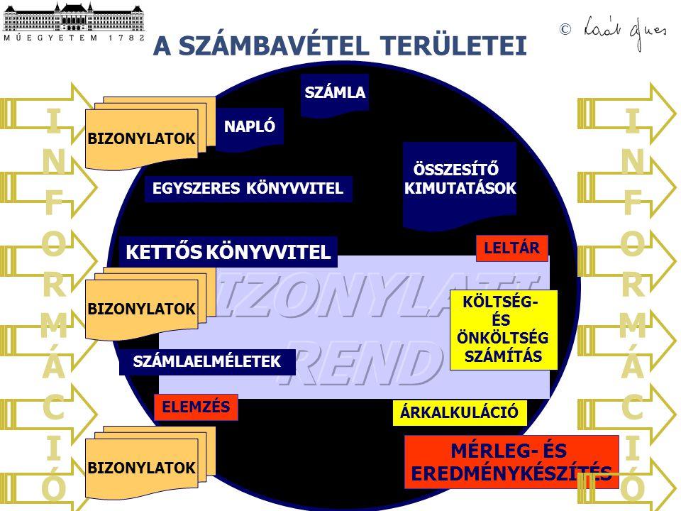 © SZÁMVITEL PÉNZÜGYI SZÁMVITEL VEZETŐI SZÁMVITEL A VEZETŐI SZÁMVITEL (MANAGEMENT ACCOUNTING) A VEZETŐI DÖNTÉSEK MEGHOZATALÁHOZ SZÜKSÉGES RELEVÁNS INFORMÁCIÓK ELÉRÉSÉT ÉS FELHASZNÁLÁSÁT BIZTOSÍTJA.
