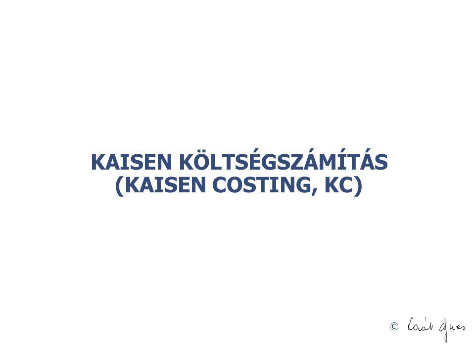 © KAISEN KÖLTSÉGSZÁMÍTÁS (KAISEN COSTING, KC)