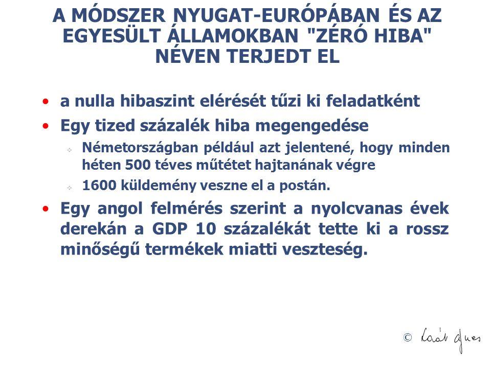 © A MÓDSZER NYUGAT-EURÓPÁBAN ÉS AZ EGYESÜLT ÁLLAMOKBAN