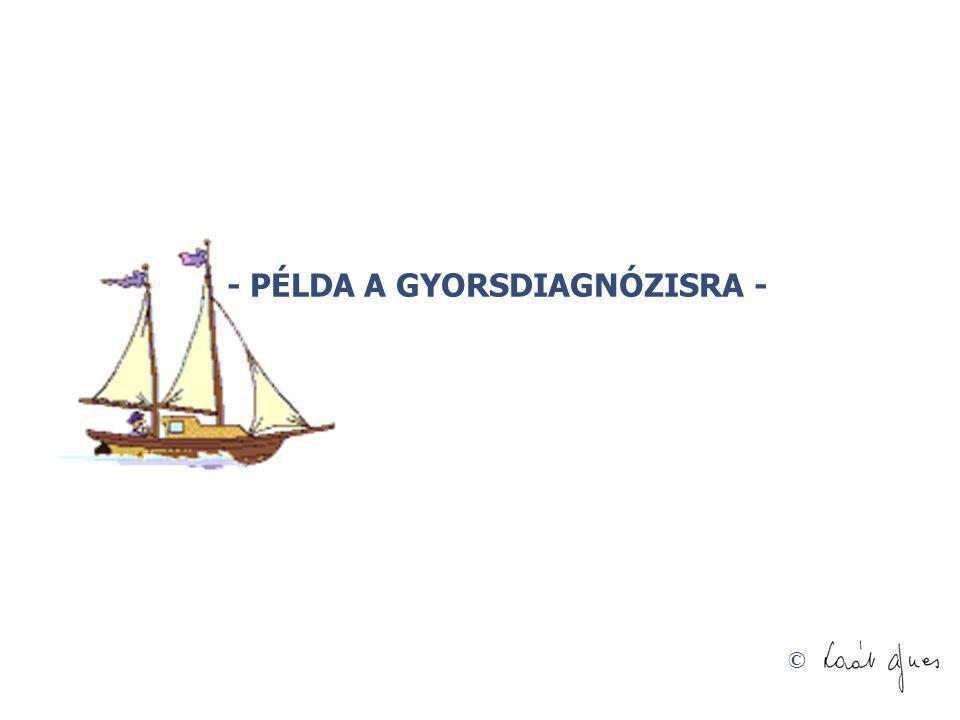 © - PÉLDA A GYORSDIAGNÓZISRA -