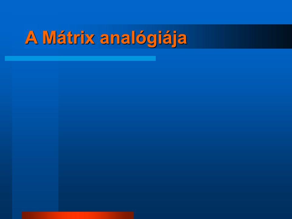 A Mátrix analógiája