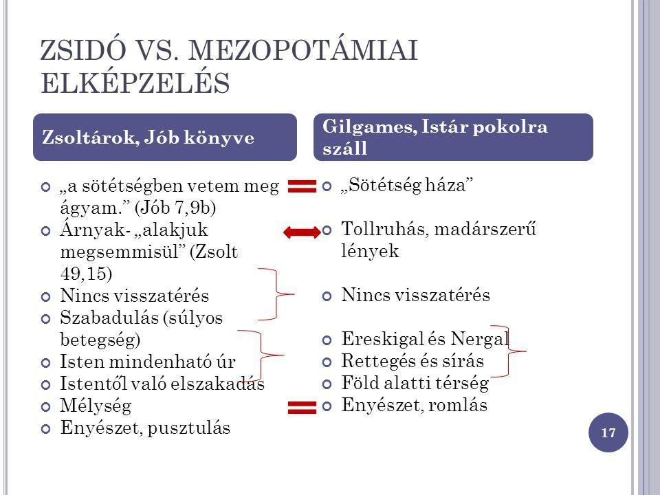ZSIDÓ VS.