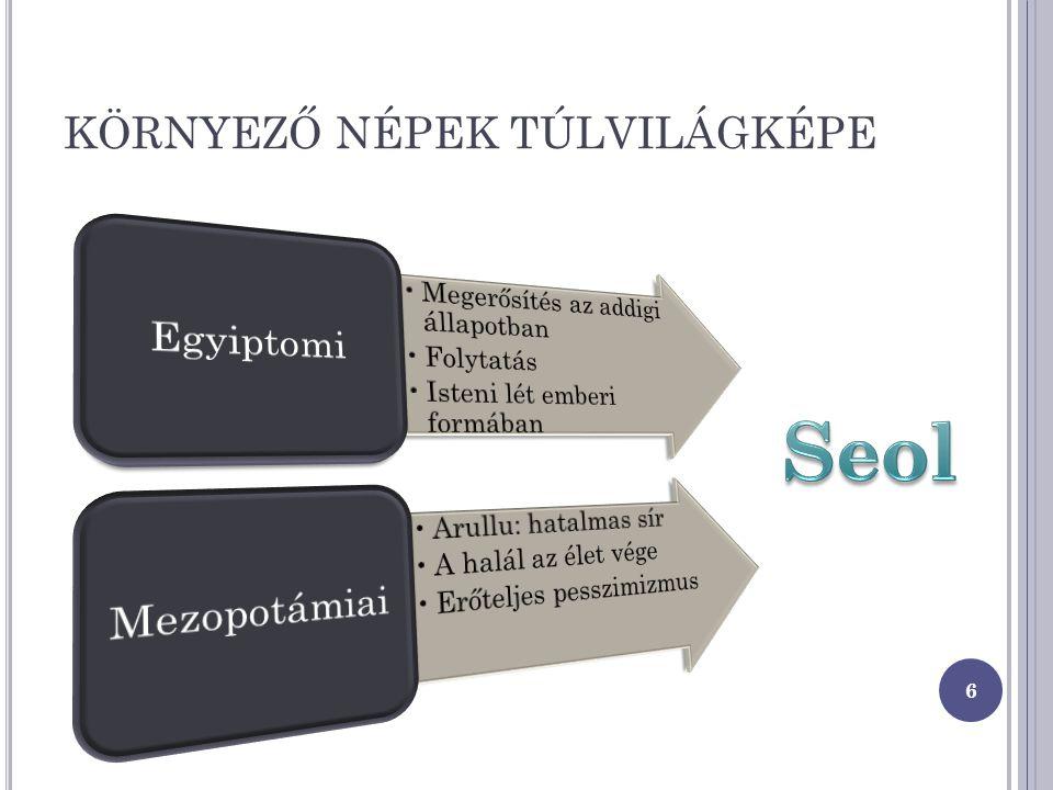 KÖRNYEZŐ NÉPEK TÚLVILÁGKÉPE 6