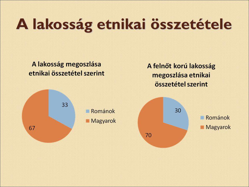 A lakosság etnikai összetétele