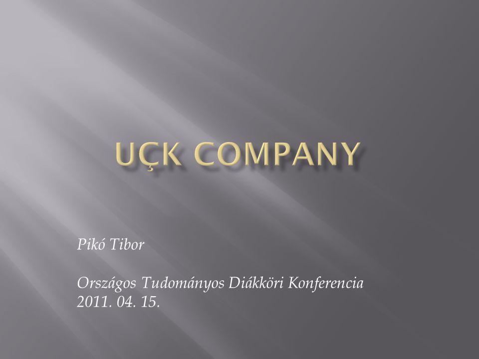 Pikó Tibor Országos Tudományos Diákköri Konferencia 2011. 04. 15.