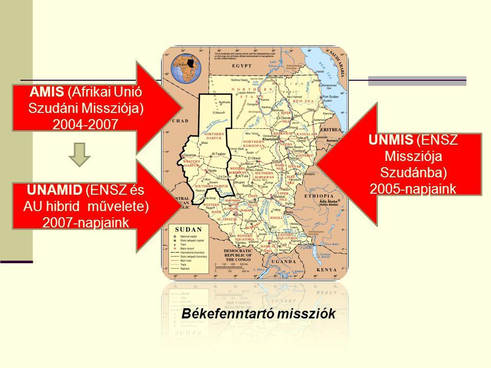 Dél-Szudán: önálló állam Bashir egyetértése 2011 február-július: feszült várakozás HÁBORÚ BÉKE