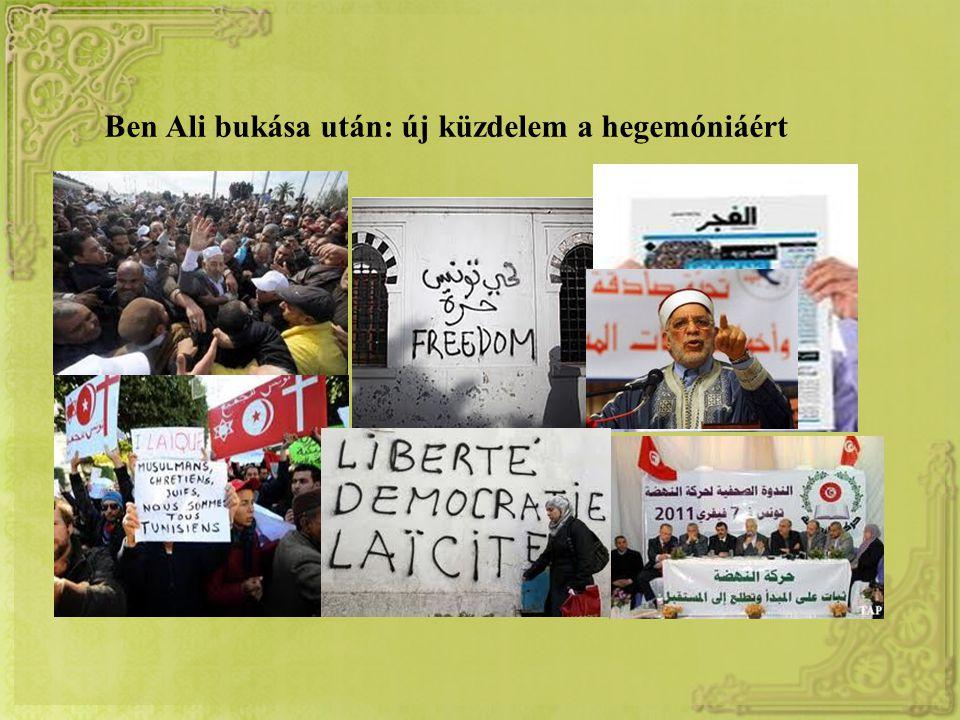 Ben Ali bukása után: új küzdelem a hegemóniáért