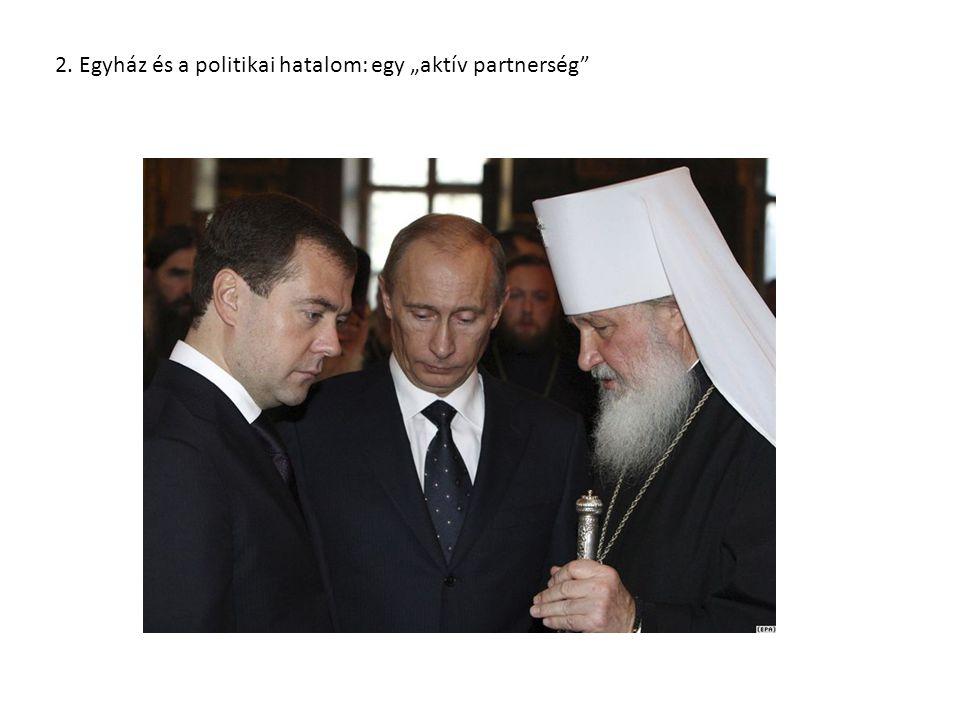 """2. Egyház és a politikai hatalom: egy """"aktív partnerség"""