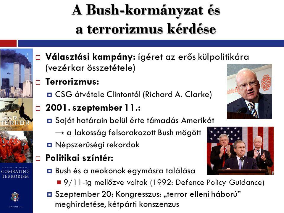 A Bush-doktrína megszületése  2002.