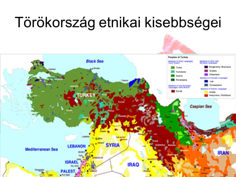 Törökország etnikai kisebbségei