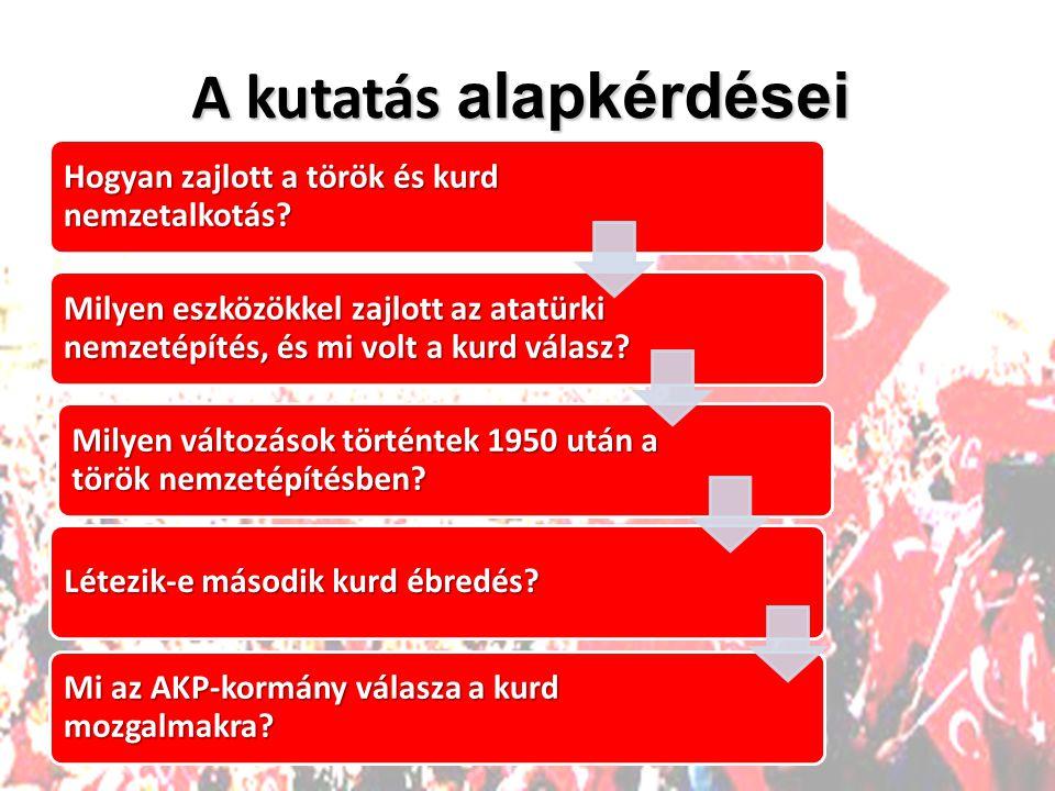Hogyan zajlott a török és kurd nemzetalkotás.