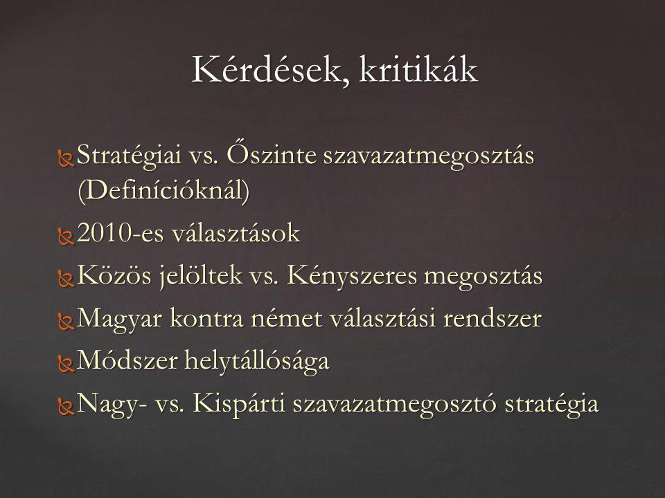  Stratégiai vs.