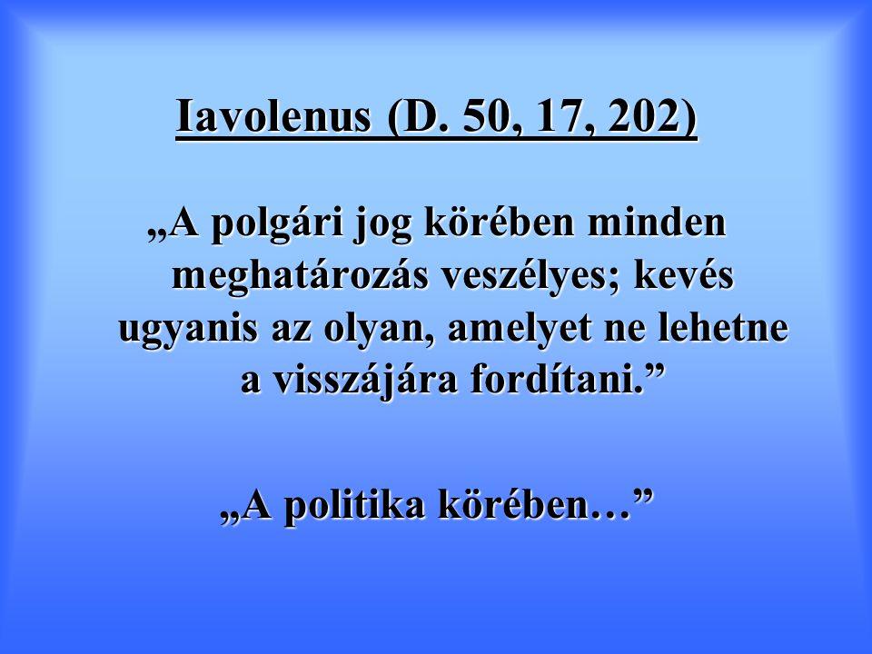 Iavolenus (D.