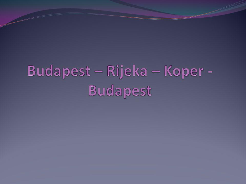 Budapest - Rijeka Budapest, Andrássy út GPS (47.5107 N /19.5059 E) Budapest – Letenye (232 km) Tankolás MOL GPS (46.4337 N / 16.7225 E) Letenye – Rijeka (267.27 km) GPS (45.328433 N /14.436370 E)