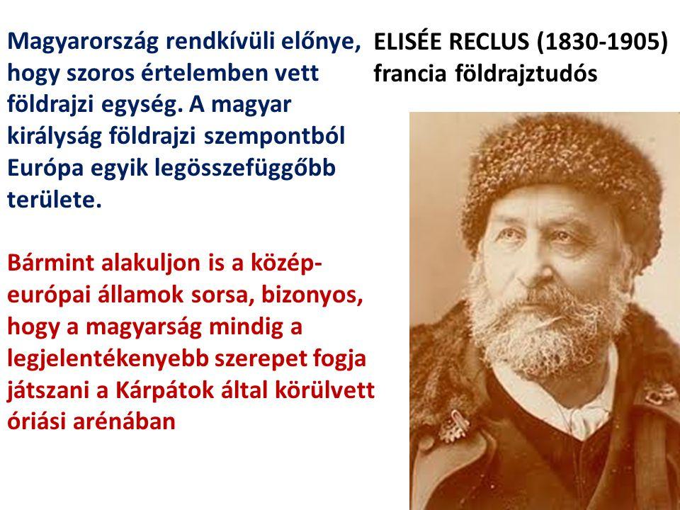 Magyarország rendkívüli előnye, hogy szoros értelemben vett földrajzi egység. A magyar királyság földrajzi szempontból Európa egyik legösszefüggőbb te