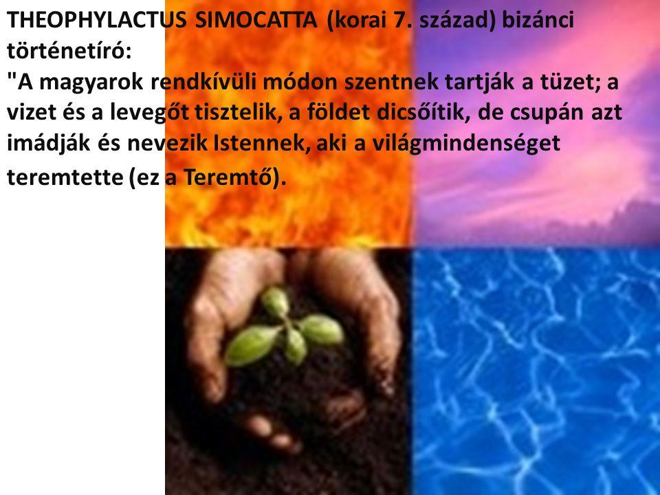 THEOPHYLACTUS SIMOCATTA (korai 7. század) bizánci történetíró: