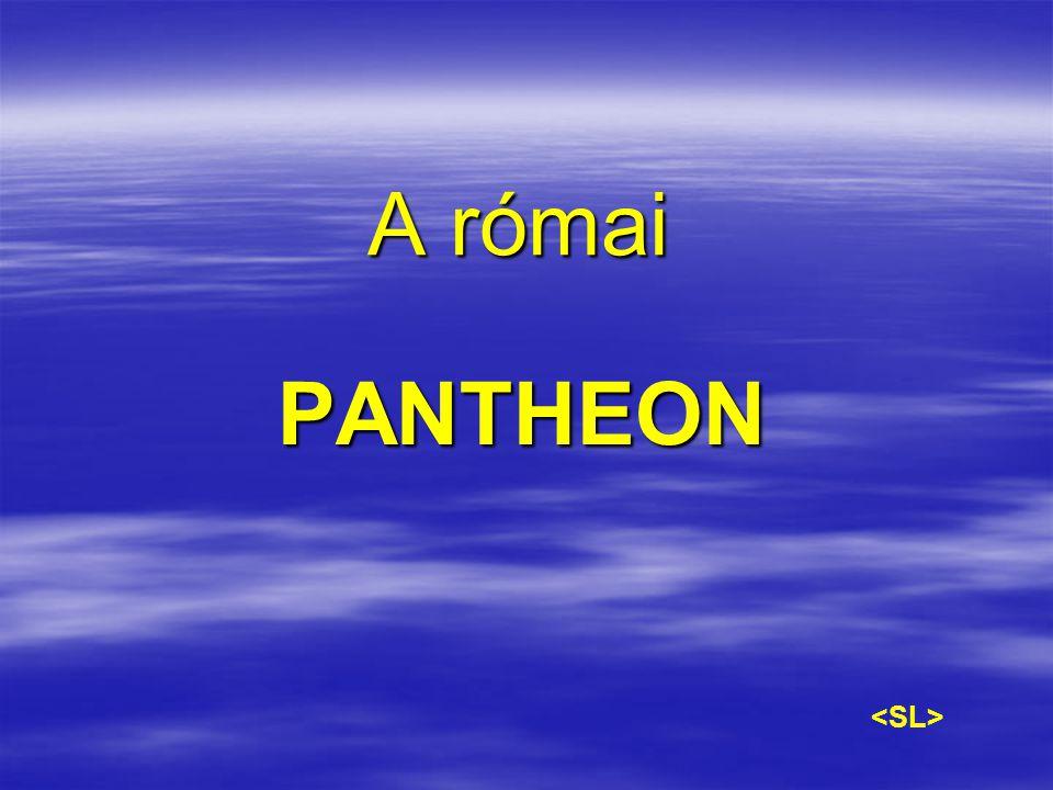 A római PANTHEON