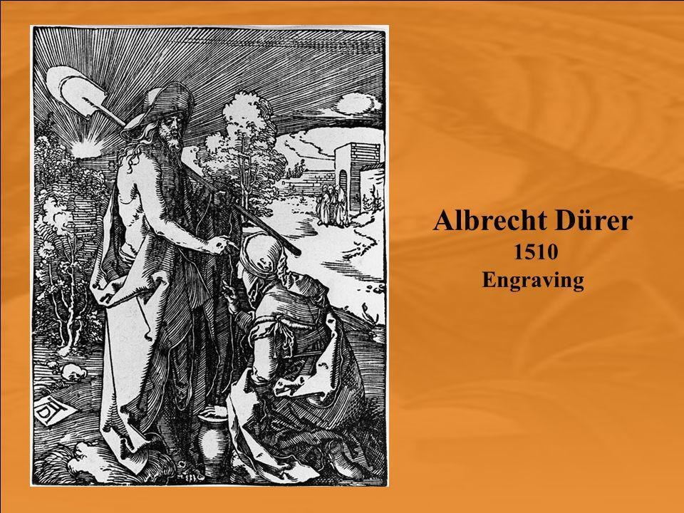 Albrecht Dürer 1510 Engraving
