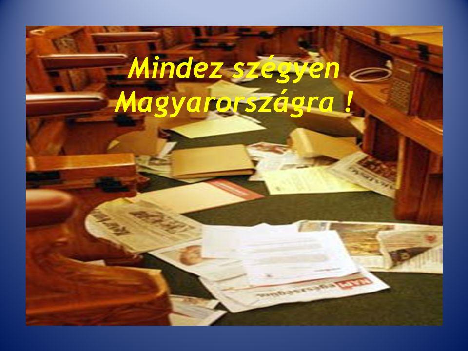 Mindez szégyen Magyarországra !