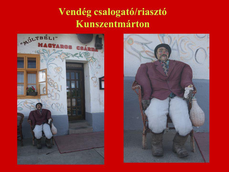 Vendég csalogató/riasztó Kunszentmárton