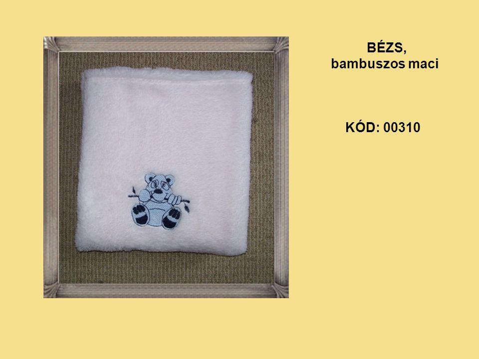 KÓD: 00310 BÉZS, bambuszos maci