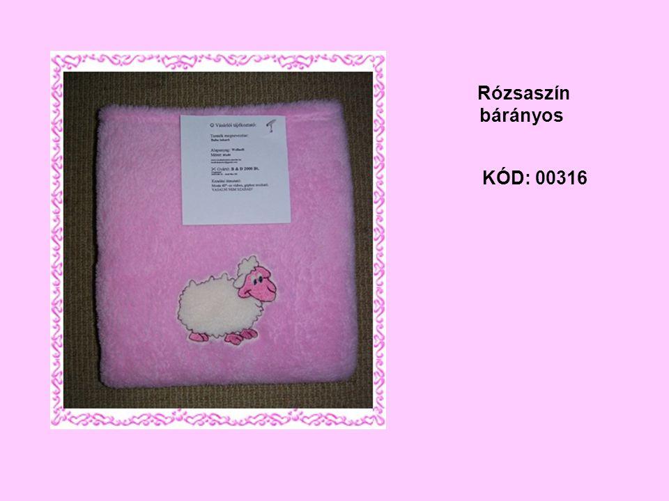 KÓD: 00316 Rózsaszín bárányos