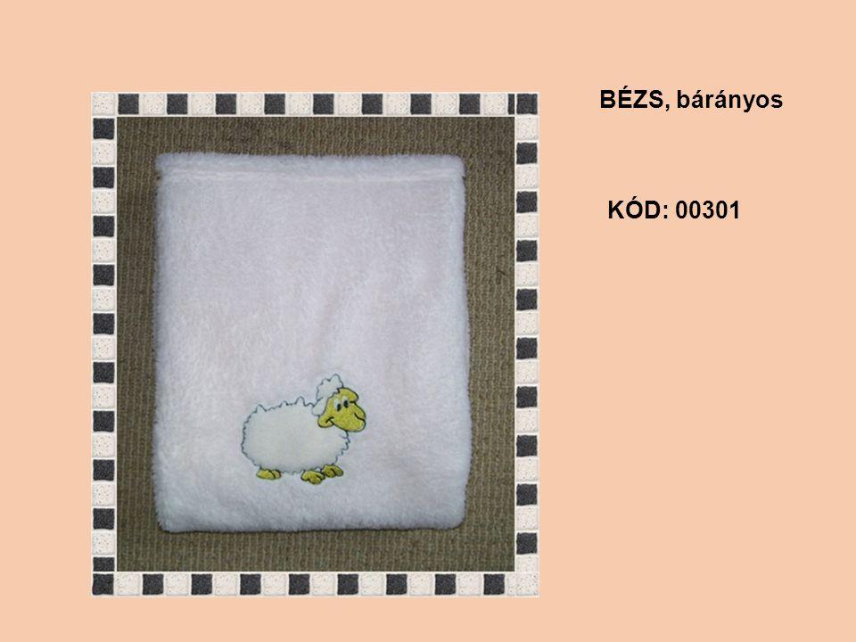 KÓD: 00301 BÉZS, bárányos