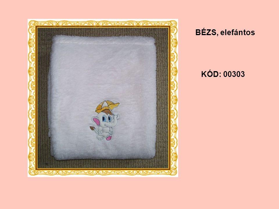 KÓD: 00303 BÉZS, elefántos
