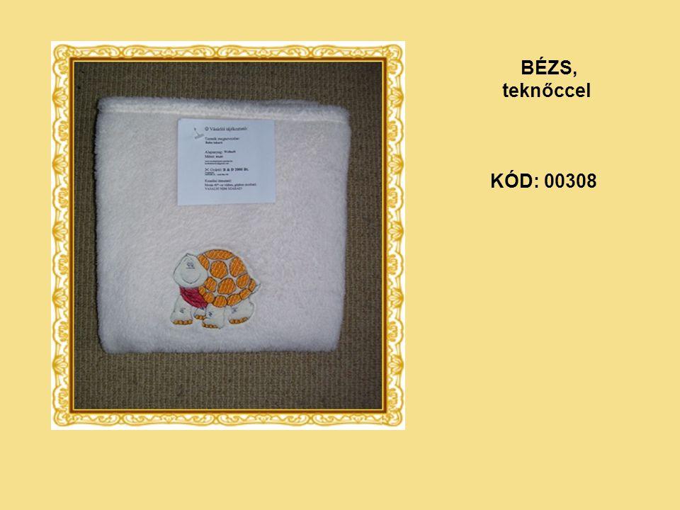 BÉZS, teknőccel KÓD: 00308